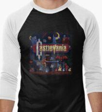 Vania Castle Men's Baseball ¾ T-Shirt