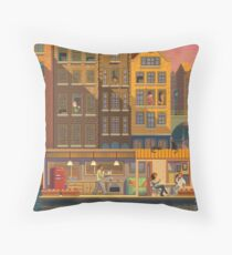 Scene #38: 'The Boathouse' Throw Pillow
