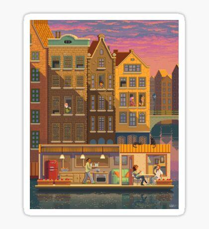 Scene #38: 'The Boathouse' Sticker