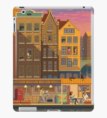 Scene #38: 'The Boathouse' iPad Case/Skin