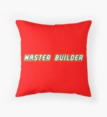 Master Builder | Games Throw Pillow