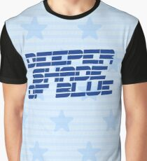 Steps: Deeper Shade Of Blue Graphic T-Shirt