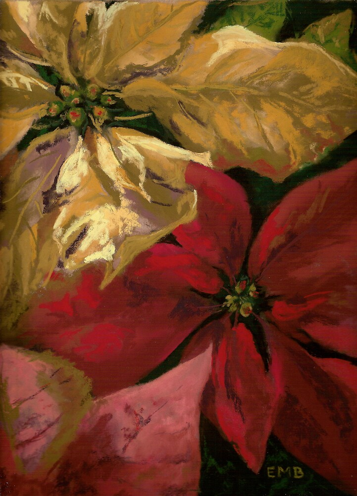 Holiday Poinsettia by BachmanArt