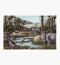 Triassic Period, Illustration Photographic Print