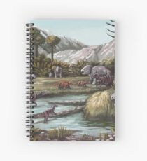 Triassic Period, Illustration Spiral Notebook