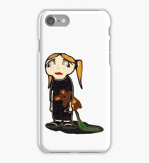 sad girl iPhone Case/Skin