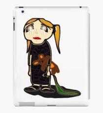 sad girl iPad Case/Skin