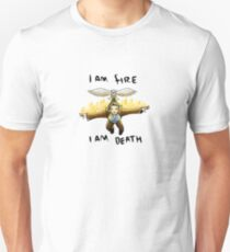 Aelin Galathynius - fire and death Unisex T-Shirt