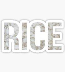 RICE Sticker