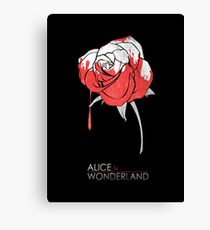 Minimalist Poster : Alice in Wonderland Canvas Print