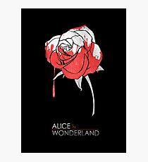 Minimalist Poster : Alice in Wonderland Photographic Print