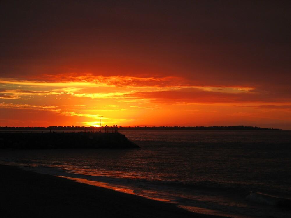 Sunset Pier by bms2tjb