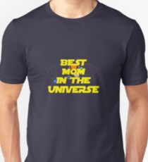 Mothers Day Gift For Mom Shirt Tote Card Mum Gift Ideas: Best Mom In The Universe T-Shirt