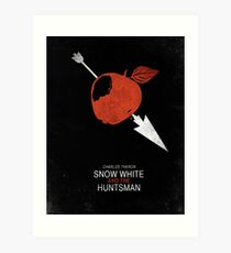 Minimalist Poster : Snow White And The Huntsman Art Print