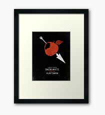 Minimalist Poster : Snow White And The Huntsman Framed Print
