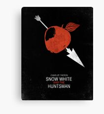 Minimalist Poster : Snow White And The Huntsman Canvas Print