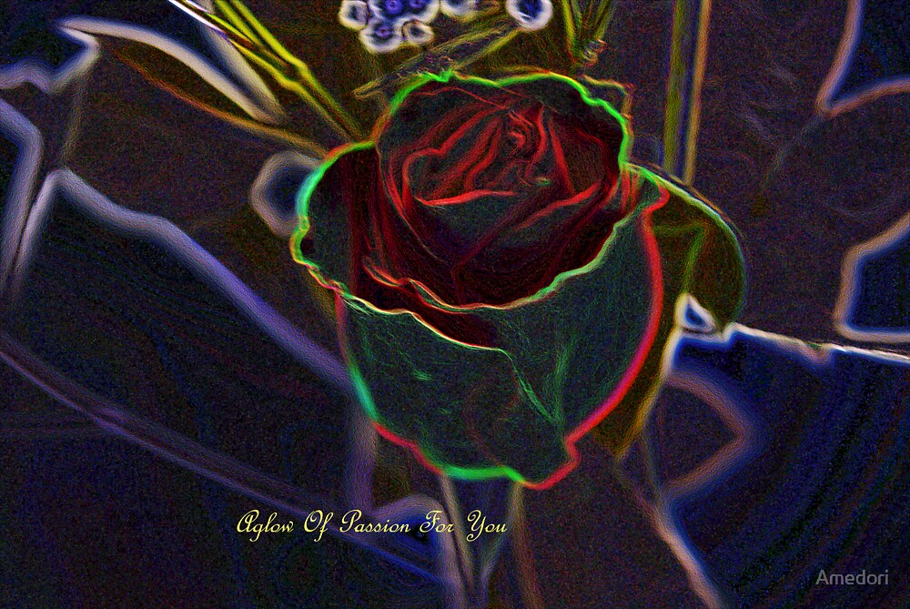 Aglow of Passion  by Amedori