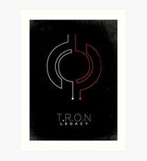 Minimalist Poster : Tron : Legacy Art Print