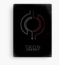 Minimalist Poster : Tron : Legacy Canvas Print