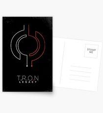 Minimalist Poster : Tron : Legacy Postcards