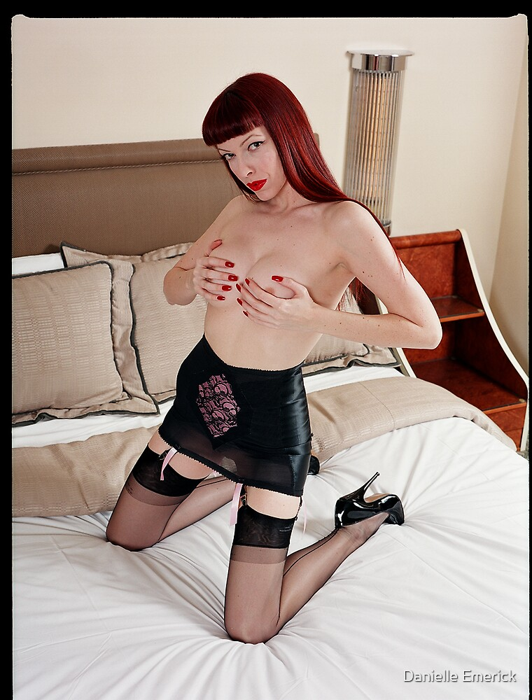 Emily Marilyn at the Argyle Hotel in Hollywood by Danielle Emerick by Danielle Emerick