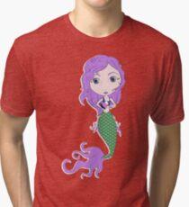I Heart Mermaids - 2nd of 4 Tri-blend T-Shirt