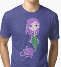 I Heart Mermaids - 2nd of 4 Tri-blend T-Shirt