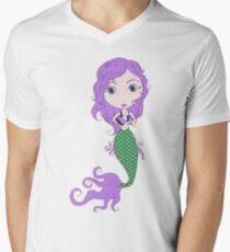 I Heart Mermaids - 2nd of 4 Men's V-Neck T-Shirt