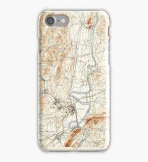 Massachusetts  USGS Historical Topo Map MA Northampton 352911 1895 62500 iPhone Case/Skin
