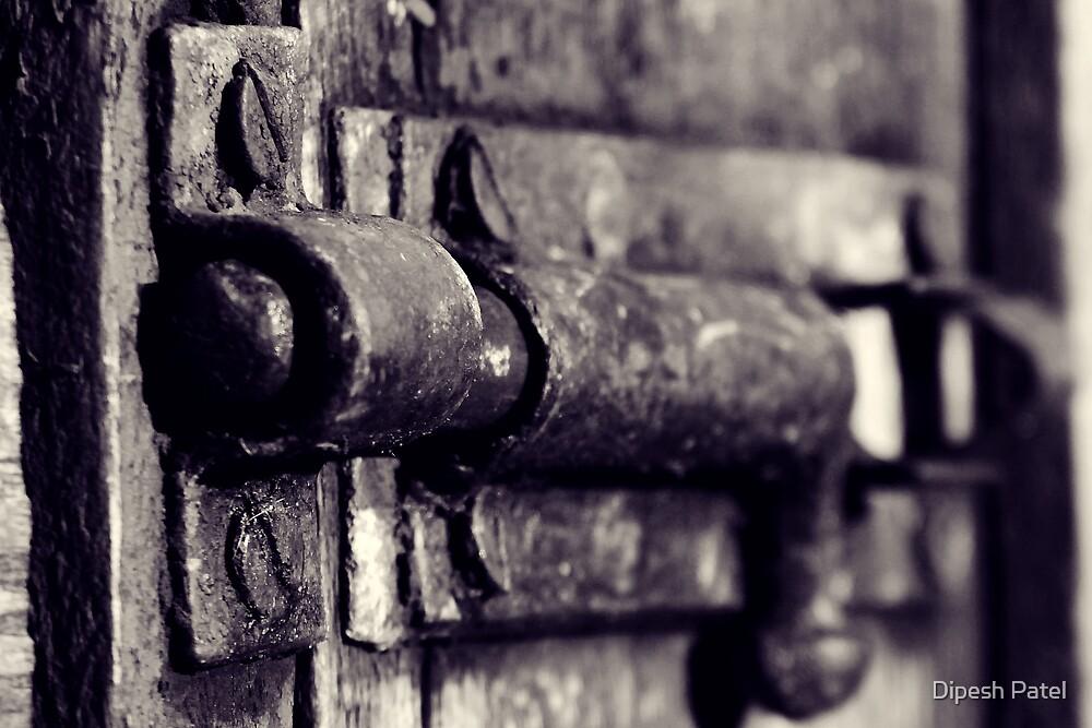 The Door Is Locked.... by Dipesh Patel