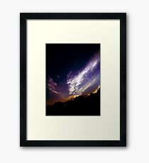 iridescent Framed Print