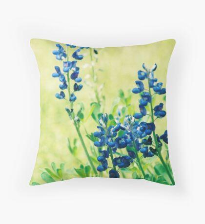 Bluebonnet Throw Pillow