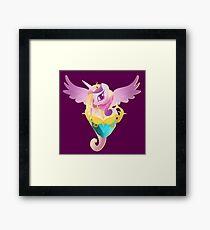 Anthro Princess Cadance Framed Print
