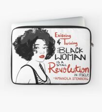Amandla Stenberg Laptop Sleeve