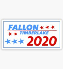 Fallon/Timberlake 2020 Sticker