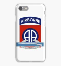 82nd Airborne CIB iPhone Case/Skin