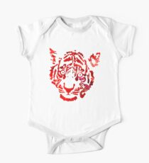 Tiger Number 5 One Piece - Short Sleeve
