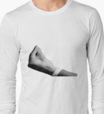 Hand sign for italian speakers Long Sleeve T-Shirt