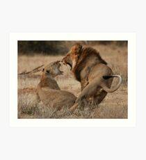 Roar Passion Art Print