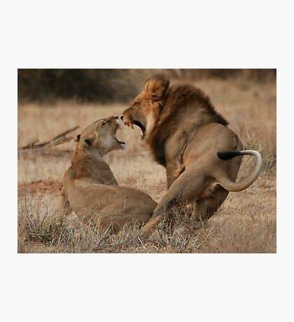 Roar Passion Photographic Print