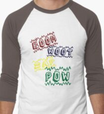 Action Words Men's Baseball ¾ T-Shirt