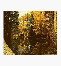 Fall Reflection  Photographic Print
