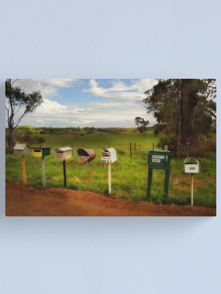Alternate view of Mailstop Canvas Print