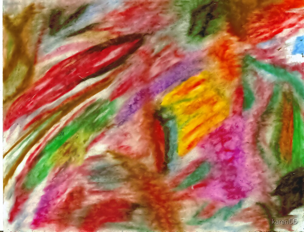 Pastel Colorful Abstract by karen66