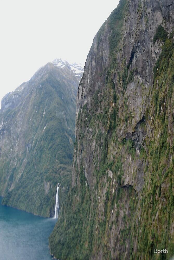 Milford Sound by Borth