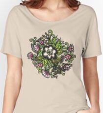 Primrose mauve Women's Relaxed Fit T-Shirt