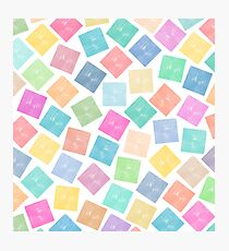 Colorful Geometric Background Photographic Print