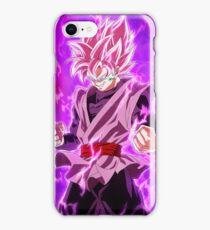 Black Goku Super Saiyan Rose iPhone Case/Skin