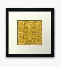 Watch the Throne 8-bit Framed Print