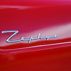 Red Zephyr Badge by lizdomett